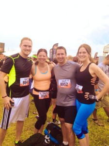TM1 225x300 Ben and Katie Represent H&L at Tough Mudder